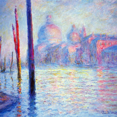 100% Hand Painted Oil on Canvas - Canal Grand by Monet