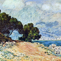 100% Hand Painted Oil on Canvas - Cape Martin in Menton by Monet
