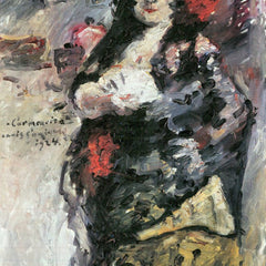 100% Hand Painted Oil on Canvas - Carmencita by Lovis Corinth