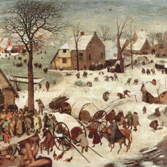 The Museum Outlet - Census at Bethlehem by Pieter Bruegel