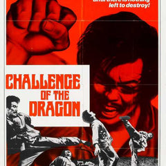 Reproduction of a poster presenting - Challenge Of Dragon 01 - A3 Poster Print Buy Online