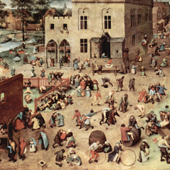 The Museum Outlet - Child's play by Pieter Bruegel