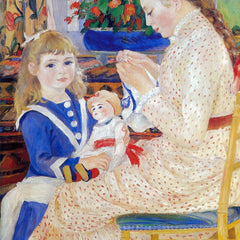 The Museum Outlet - Children in the afternoon in Wargemont  (Detail) by Renoir