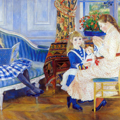 The Museum Outlet - Children in the afternoon in Wargemont by Renoir
