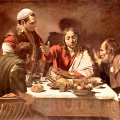 The Museum Outlet - Christ in Emmaus by Caravaggio