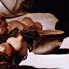 The Museum Outlet - Christ in Emmaus detail fruits by Caravaggio