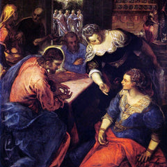 The Museum Outlet - Christ with Mary and Martha by Tintoretto