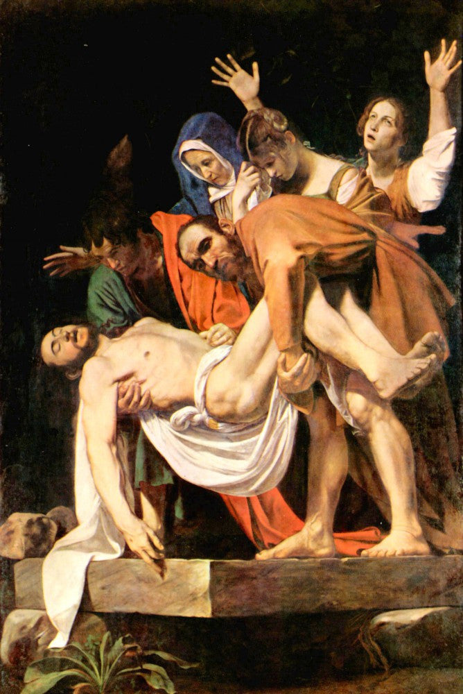 The Museum Outlet - Christ's burial by Caravaggio