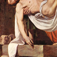 The Museum Outlet - Christ's burial detail 2 by Caravaggio