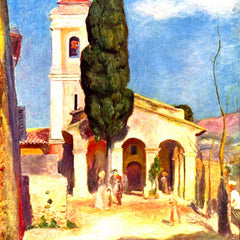 The Museum Outlet - Church in Cagnes by Renoir