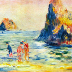The Museum Outlet - Cliffs at Guernsey by Renoir