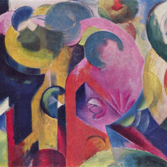 The Museum Outlet - Composition III by Franz Marc