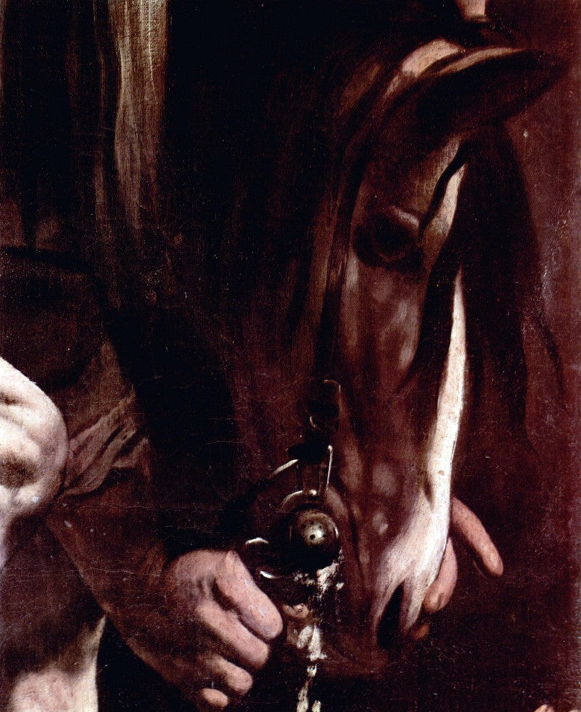 The Museum Outlet - Conversion of Saul detail by Caravaggio
