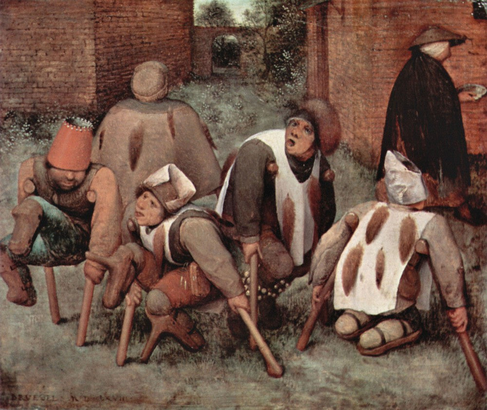The Museum Outlet - Cripples by Pieter Bruegel