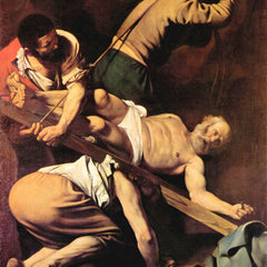 The Museum Outlet - Crucifixion of St. Paul by Caravaggio