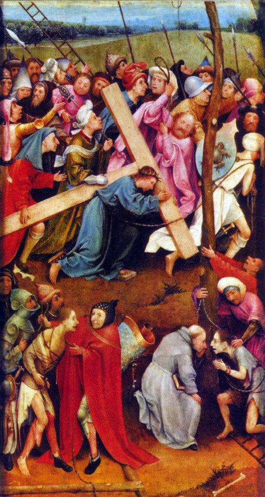 The Museum Outlet - Crucifixion transmission (Christ on Calvary) by Bosch