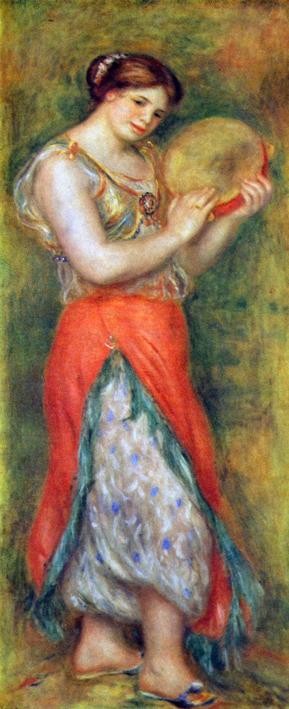 The Museum Outlet - Dancer with tamborine by Renoir