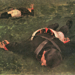 100% Hand Painted Oil on Canvas - Dead Frenchmen by Albin Egger-Lienz