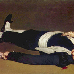 100% Hand Painted Oil on Canvas - Dead Torero by Manet