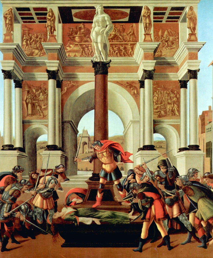 The Museum Outlet - Death of Lucretia by Botticelli