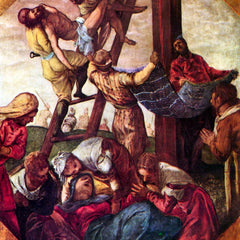 The Museum Outlet - Descent from the Cross by Tintoretto