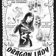 Reproduction of a poster presenting - Dragon Lady 01 - A3 Poster Print Buy Online
