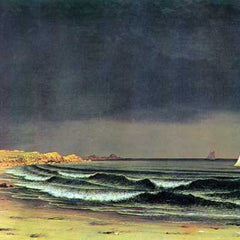 The Museum Outlet - Emerging storm, Narragansett Bay by Martin Johnson Heade