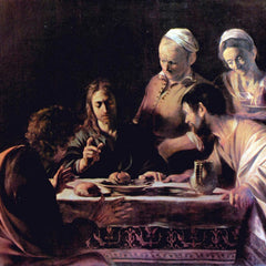 The Museum Outlet - Emmaus by Caravaggio