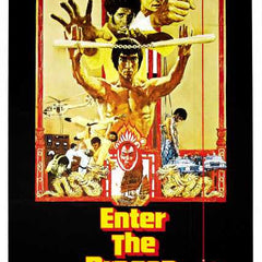 Reproduction of a poster presenting - Enter The Dragon 002 - A3 Poster Print Buy Online