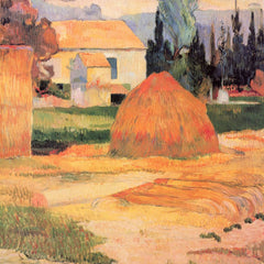 The Museum Outlet - Farmhouses in Arles by Gauguin