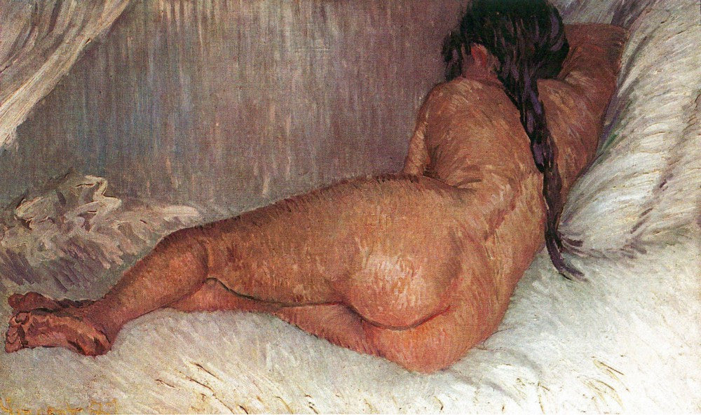 The Museum Outlet - Female Nude by Van Gogh