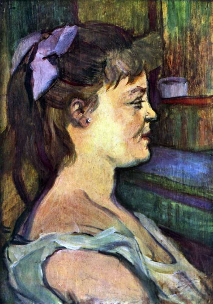100% Hand Painted Oil on Canvas - Femme de Maison by Toulouse-Lautrec