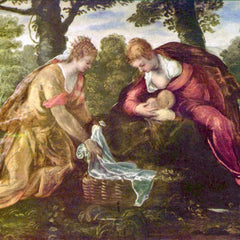 The Museum Outlet - Finding of Moses by Tintoretto