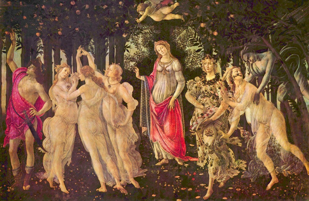 The Museum Outlet - First Spring by Botticelli