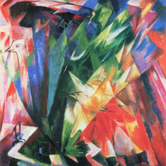 The Museum Outlet - Fowl by Franz Marc