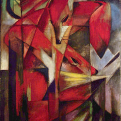 The Museum Outlet - Foxes by Franz Marc