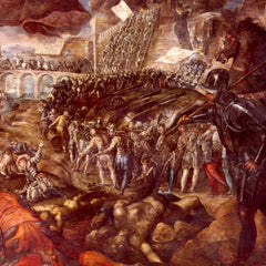 The Museum Outlet - Frerico II Gonzaga conquered Parma by Tintoretto