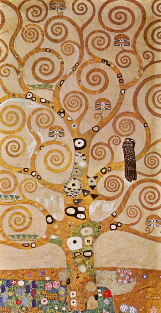 100% Hand Painted Oil on Canvas - Frieze II by Klimt