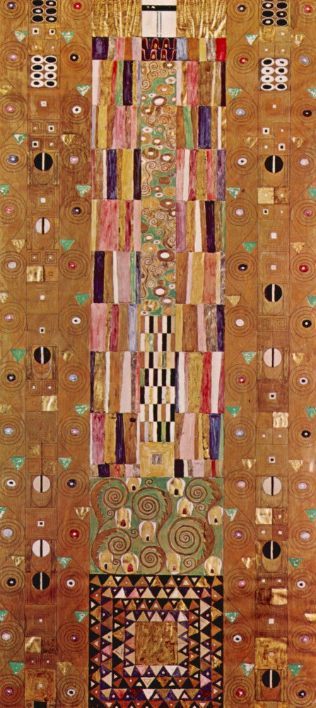 100% Hand Painted Oil on Canvas - Frieze by Klimt