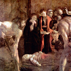 The Museum Outlet - Funeral of St. Lucia by Caravaggio