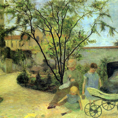 The Museum Outlet - Garden in Rue Carcel by Gauguin