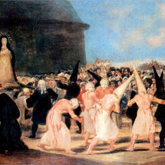 The Museum Outlet - Geissler procession by Goya