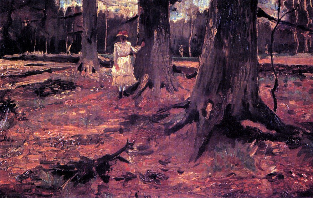 The Museum Outlet - Girl in White in the Woods