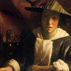 The Museum Outlet - Girl with a flute by Vermeer