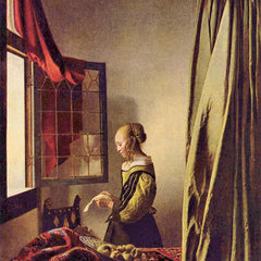 The Museum Outlet - Girls at the open window by Vermeer