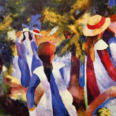 The Museum Outlet - Girls in the Open by August Macke