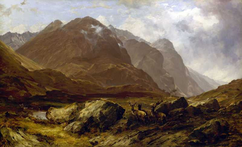 100% Hand Painted Oil on Canvas - Glencoe by McColluch
