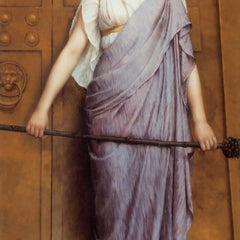 100% Hand Painted Oil on Canvas - Godward - At the Gate