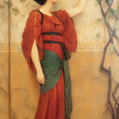 100% Hand Painted Oil on Canvas - Godward - Autumn