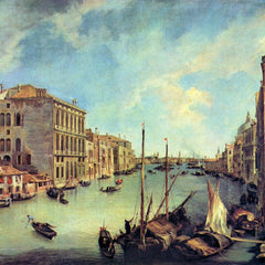 The Museum Outlet - Grand Canal at San Vio by Canaletto